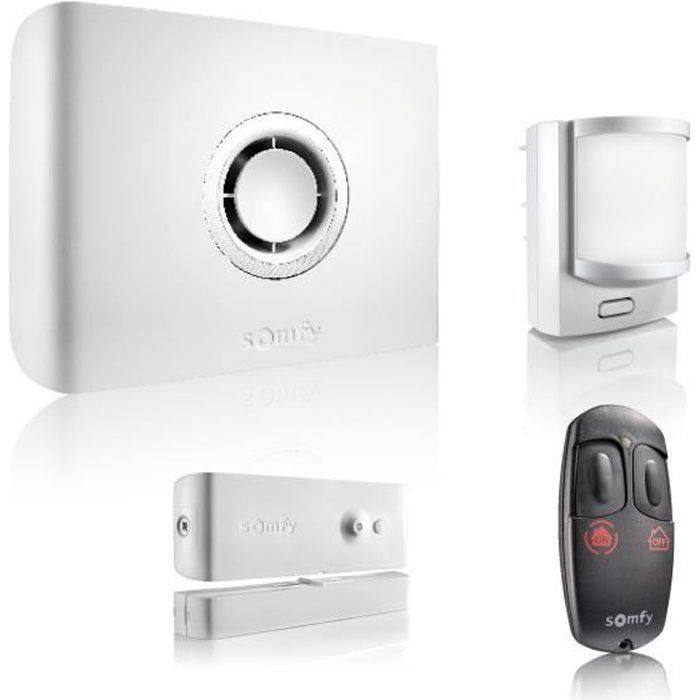 SOMFY Pack alarme maison Protexiom Start GSM connectée sans fil