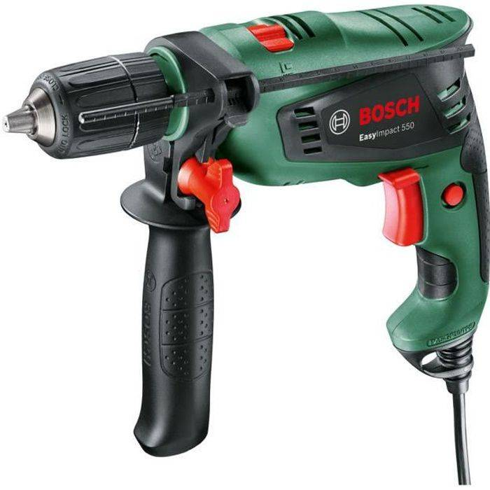 BOSCH Perceuse à percussion BOSCH EasyImpact 550W