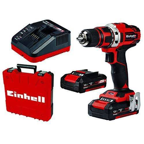 Einhell 4513912 TE-CD Perceuse-visseuse sans fil 18-40 Li 2 x 1,5 Ah 4513912