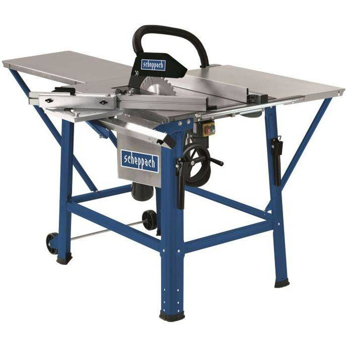 SCHEPPACH Scie circulaire sur table inclinable 315 mm 2200 W 230 V TS310