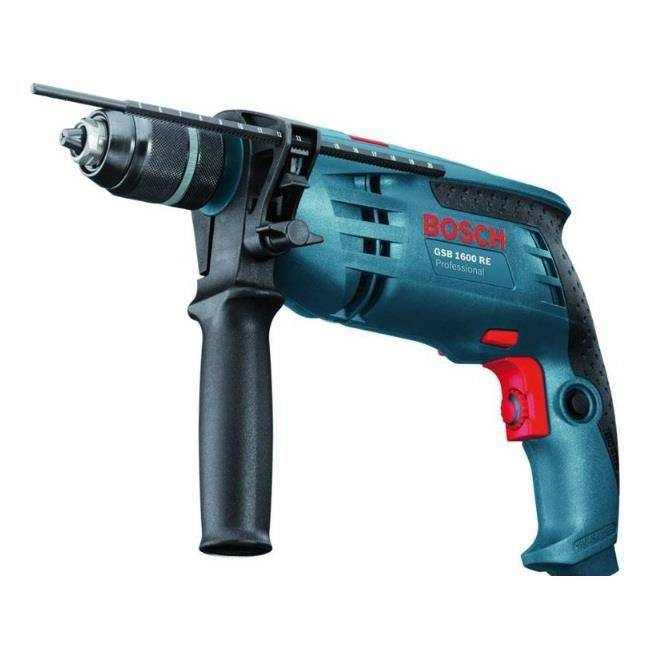 Bosch - Perceuse à percussion 700W - GSB 1600 RE Professional