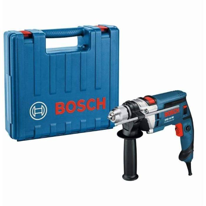Bosch Professional Perceuse A percussion Filaire GSB 16 RE (750 W, 230 V, Ø du collet 43mn, Coffret)31