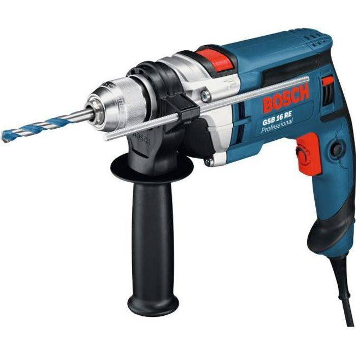 BOSCH Perceuse à percussion GSB16RE 750W