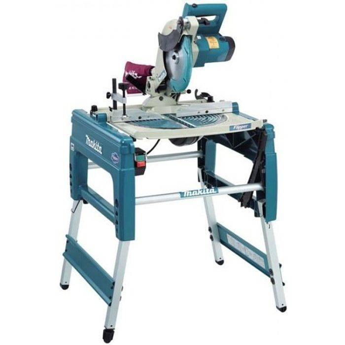 MAKITA SCIE SUR TABLE A COUPE ONGLET 1650W 260MM LF1000