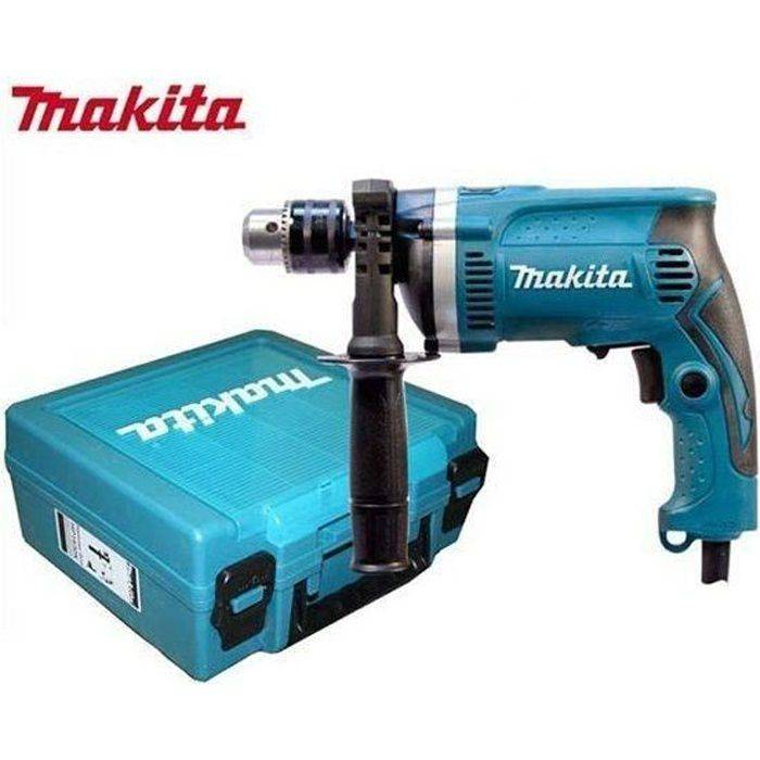 MAKITA Perceuse à percussion HP1630K 710W