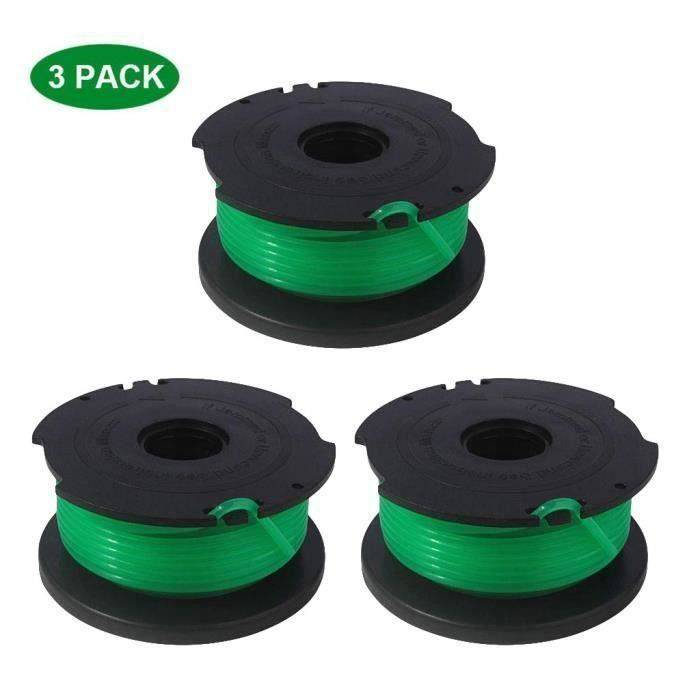 Trimmer Replacement Spools Compatible With Black Decker SF-080 GH3000 LST540 T03E59