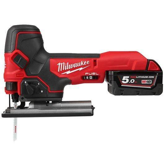 MILWAUKEE Scie sauteuse MILWAUKEE M18 FBJS-502X - 2 batteries 5.0 Ah - 1 chargeur - 4933464800