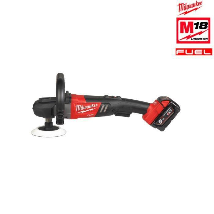 MILWAUKEE Polisseuse MILWAUKEE FUEL M18 FAP180-502X - 2 batterie 18V 5.0Ah - 1 chargeur M12-18FC 4933451550