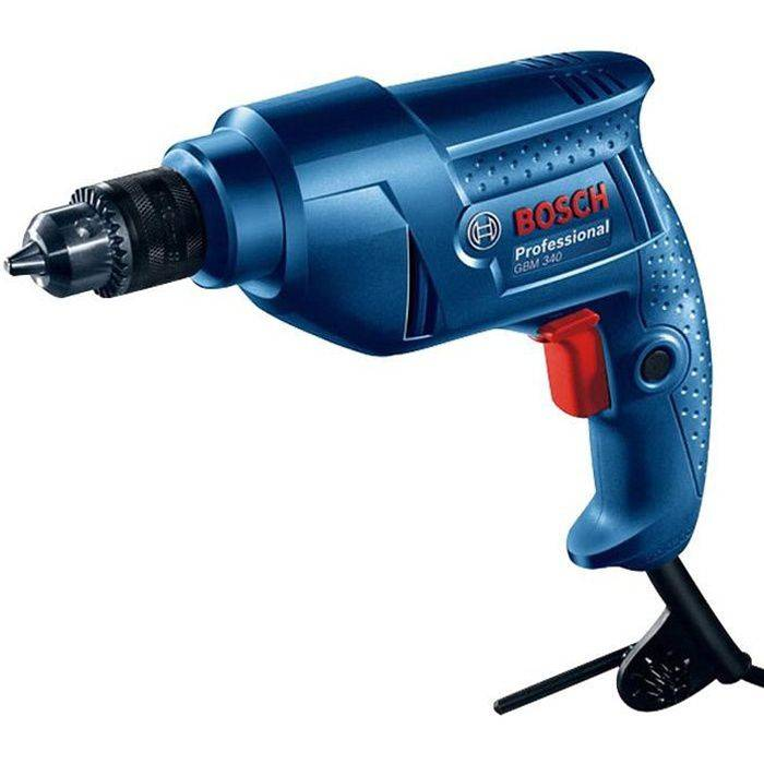 BOSCH Perceuse à percussion filaire Bosch GBM 340W