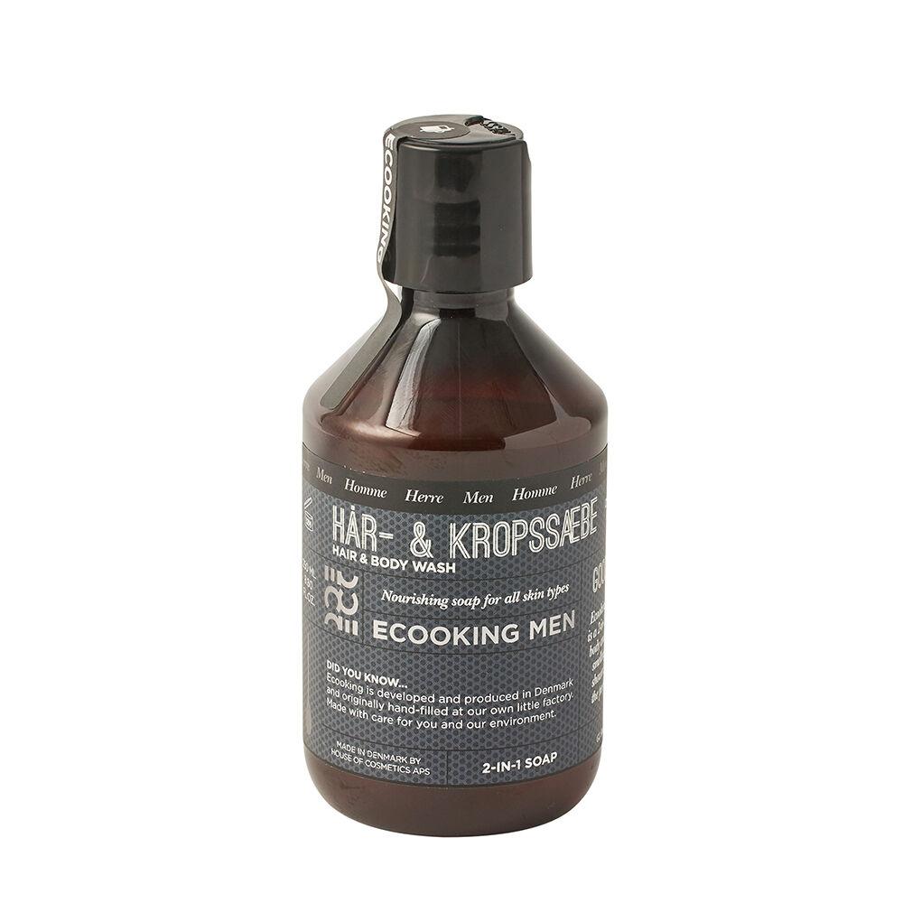 ECooking Men's Hair & Body Shampoo 250ml