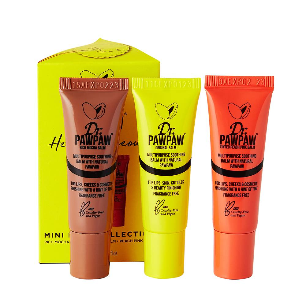 Dr. Paw Paw Mini Nude Collection Trio