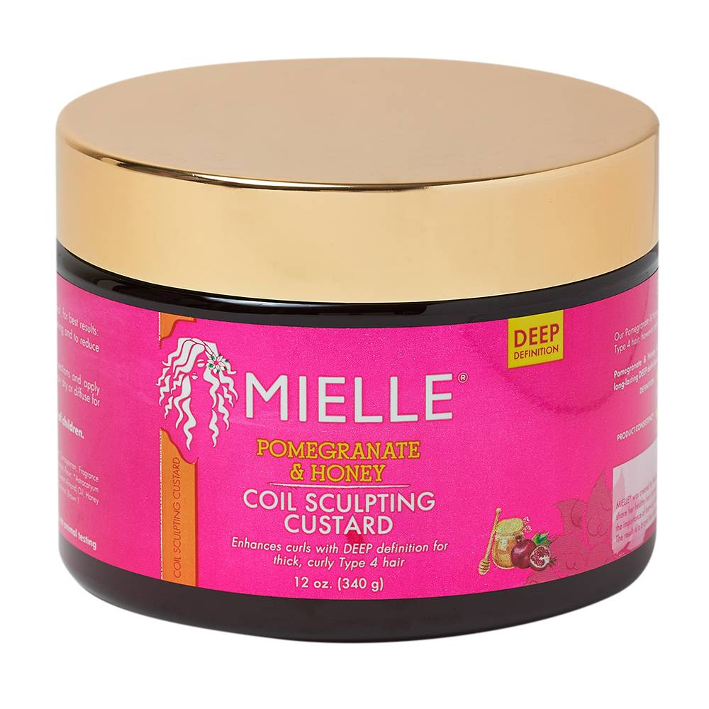 Mielle Organics Pomegranate & Honey Coil Sculpting Custard 340g