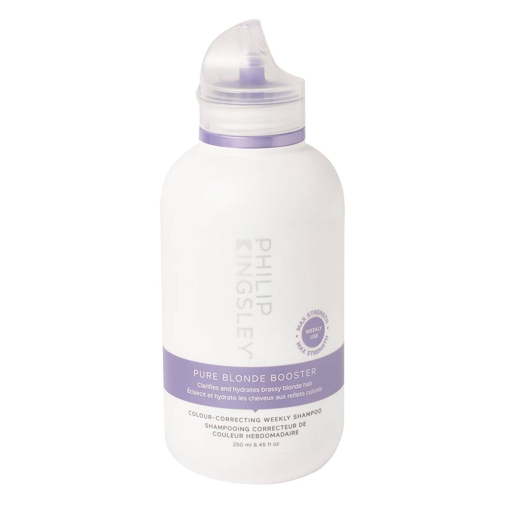 Philip Kingsley Pure Blonde Booster ColourCorrecting Weekly Shampoo Pure Blonde Booster ColourCorrecting Weekly Shampoo 250ml