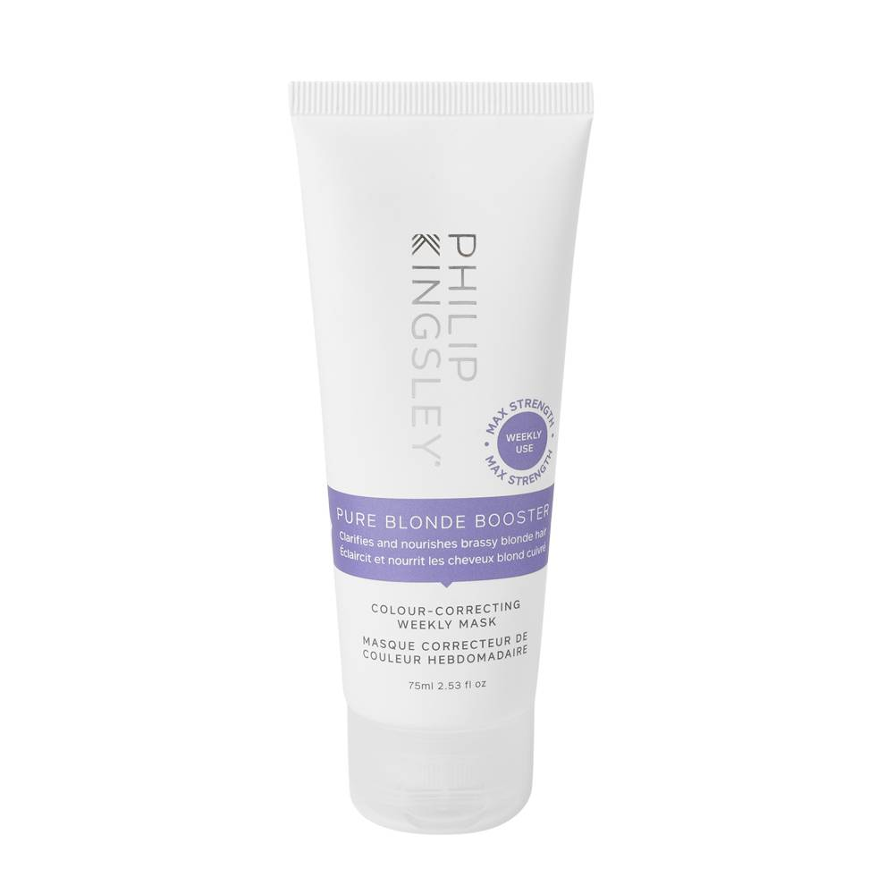 Philip Kingsley Pure Blonde Booster ColourCorrecting Weekly Mask Pure Blonde Booster ColourCorrecting Weekly Mask 75ml