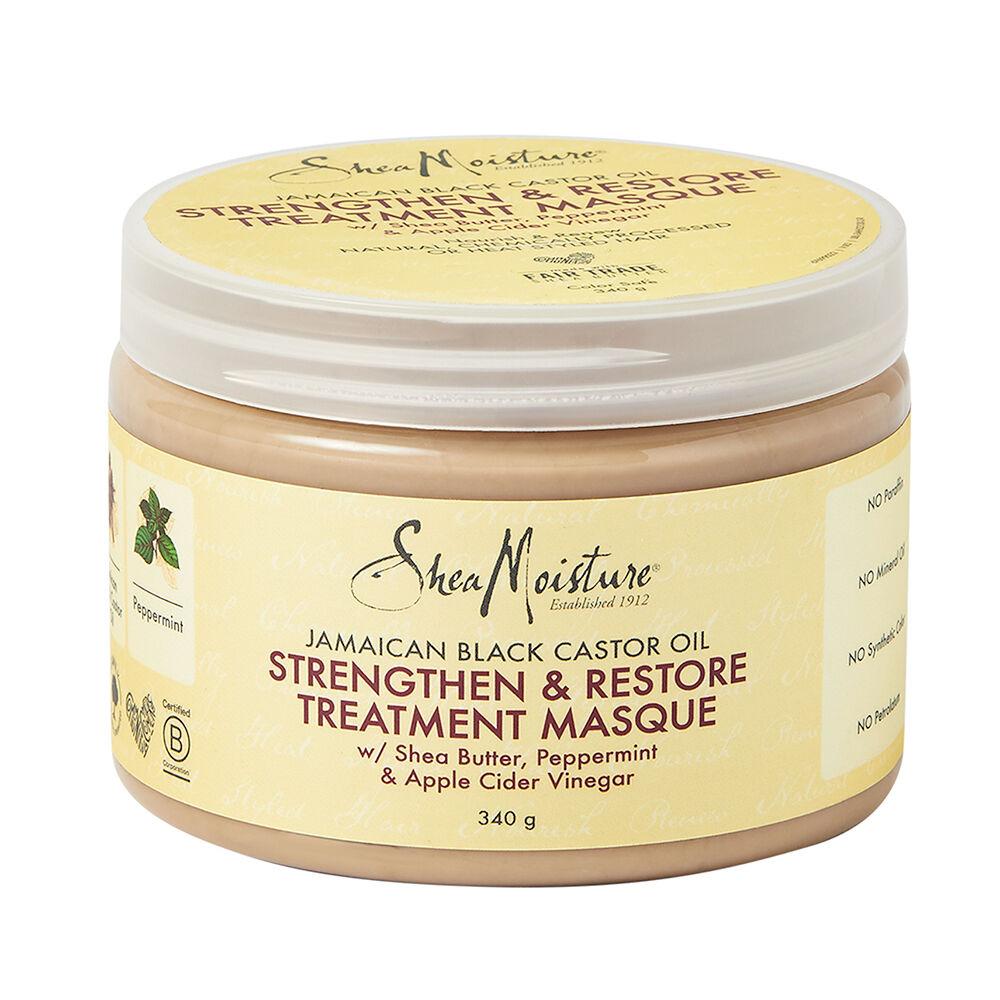 Shea Moisture Jamaican Black Castor Oil Strengthen & Restore Masque 340g