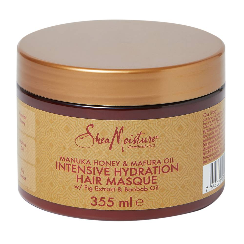 Shea Moisture Manuka Honey & Mafura Oil Intensive Hydration Hair Masque 355ml