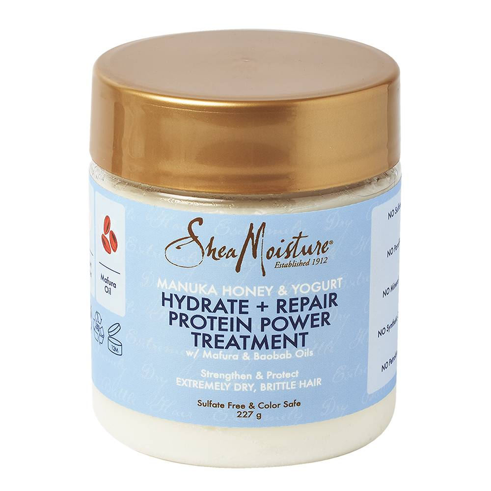Shea Moisture Manuka Honey & Yogurt Hydrate + Repair Protein Power Treatment 227g