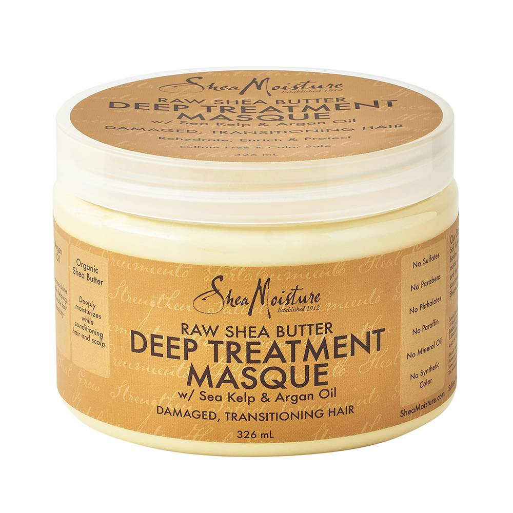 Shea Moisture Raw Shea Butter Deep Treatment Masque 326ml