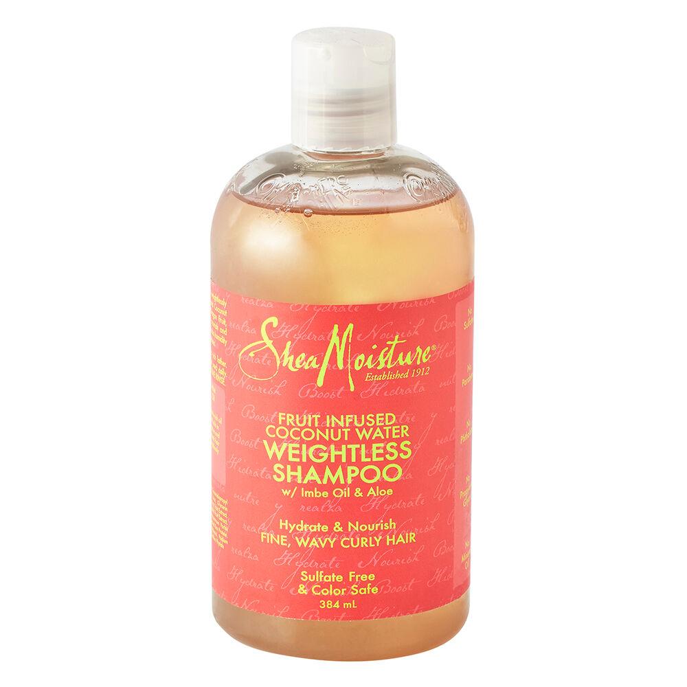 Shea Moisture Fruit Fusion Coconut Water Weightless Shampoo 384ml