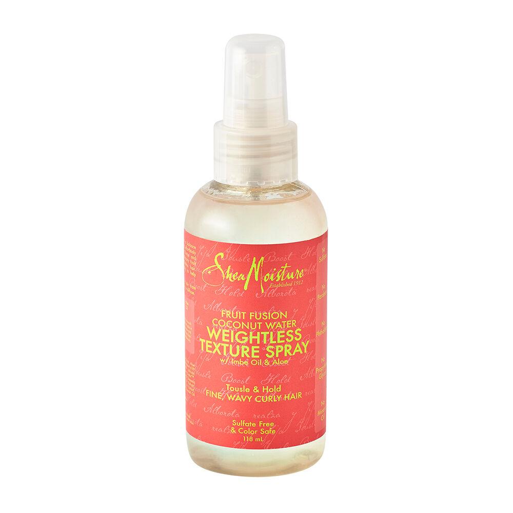 Shea Moisture Fruit Fusion Coconut Water Weightless Texture Spray 118ml