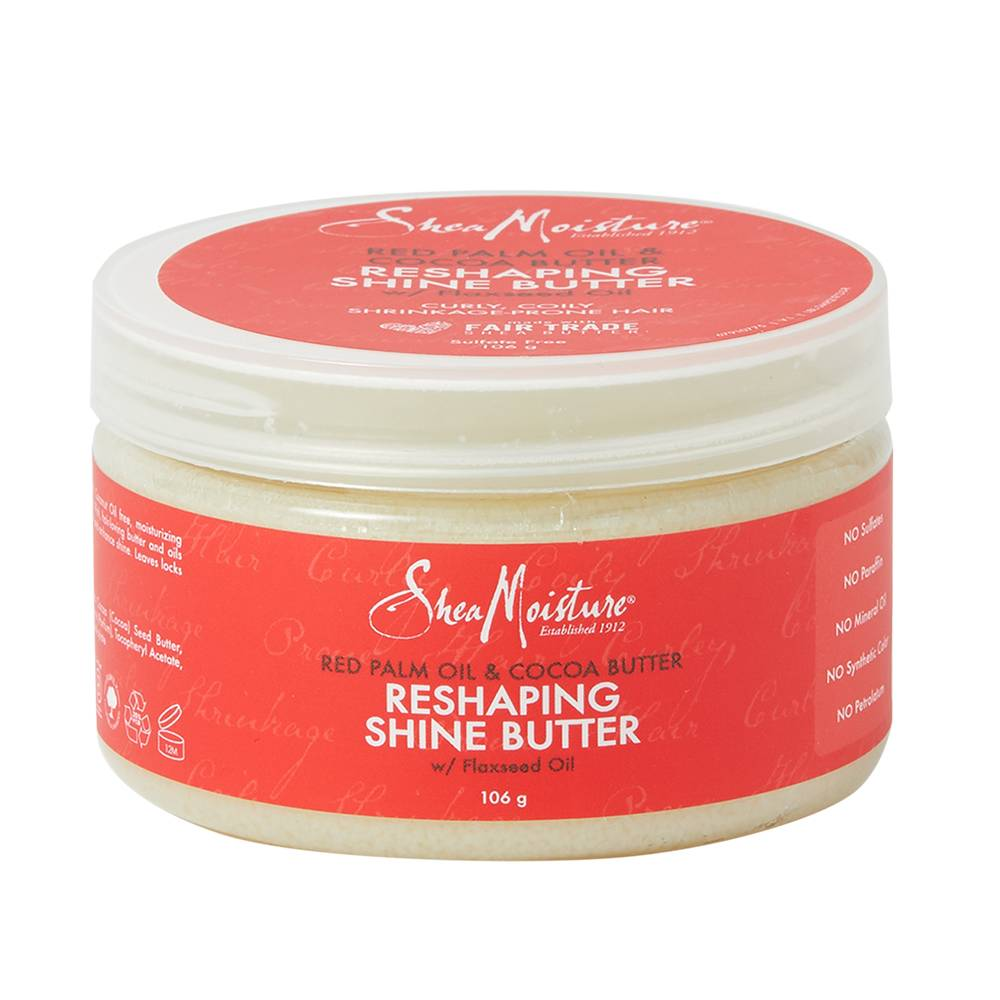 Shea Moisture Red Palm Oil & Cocoa Butter ReShaping Shine Butter 106g