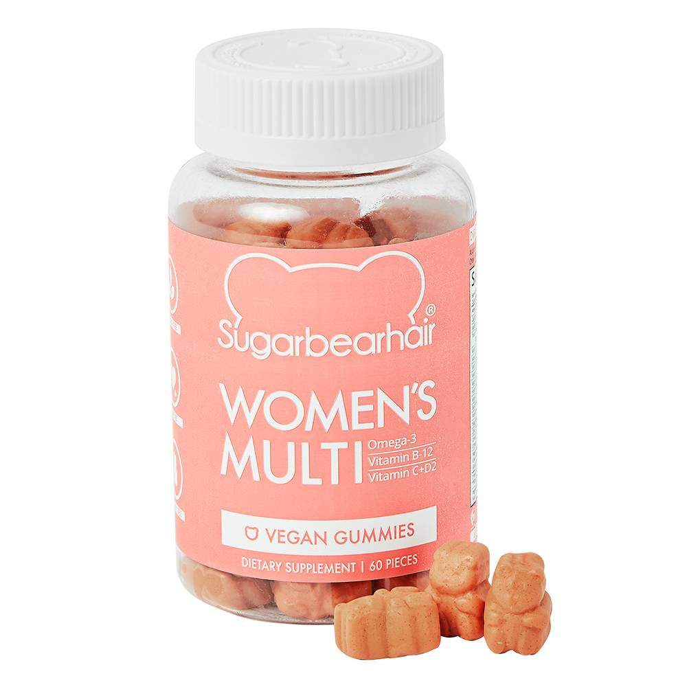 SugarBearHair Women's Multi Vitamins 1 Month Supply Vegan