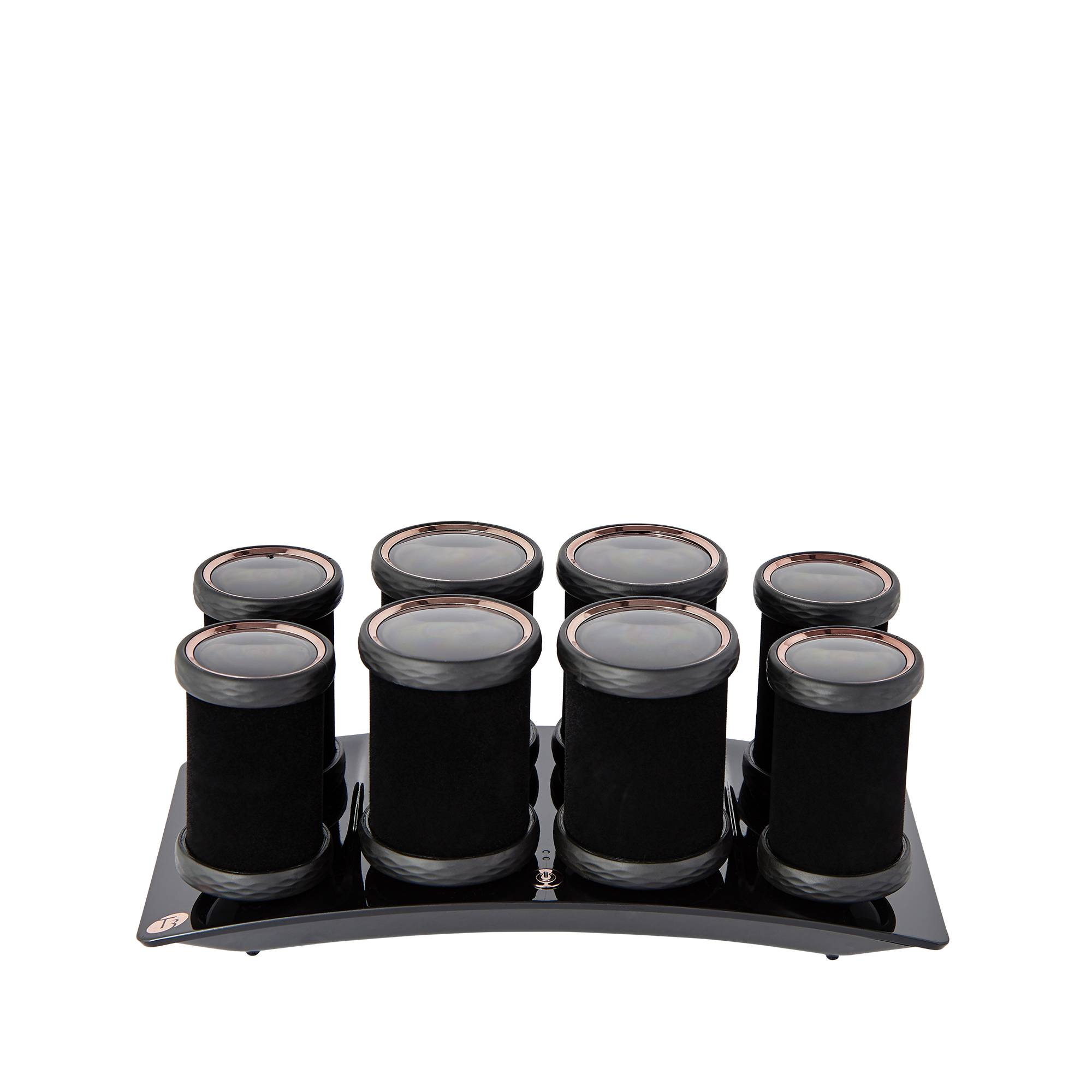 T3 Luxe Volumizing Hot Rollers 8pièces