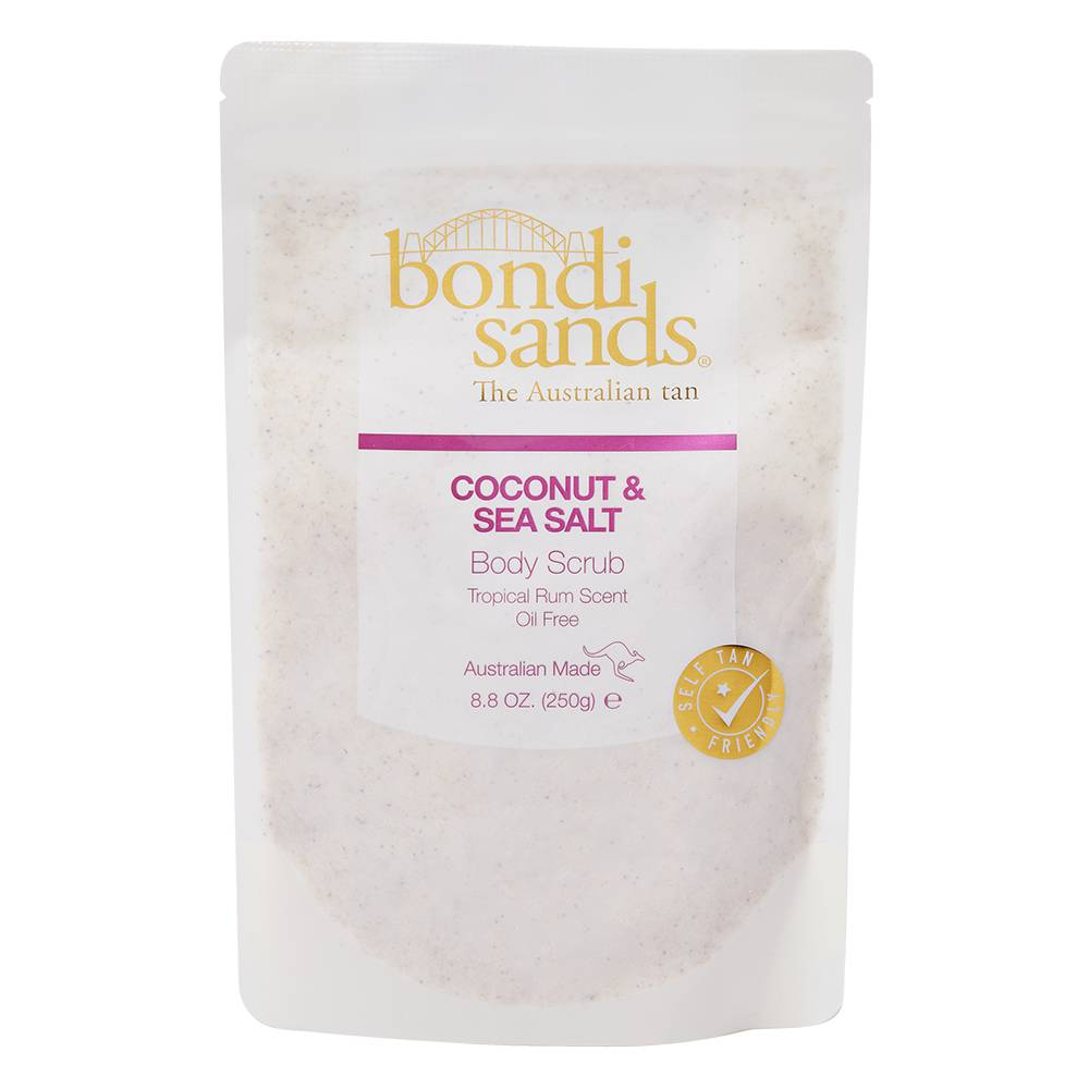 Bondi Sands Tropical Rum Coconut & Sea Salt Body Scrub 250g