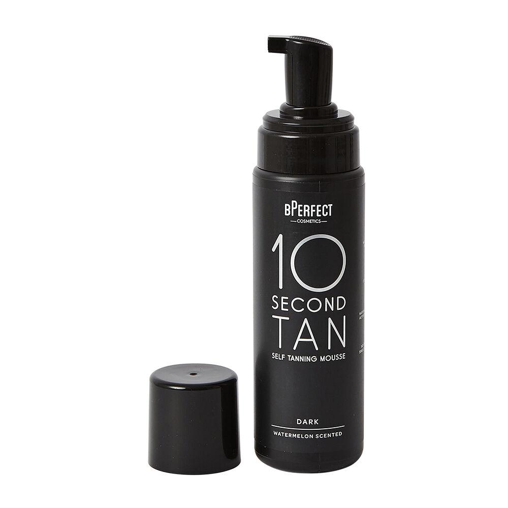 bPerfect 10 Second Tan Self Tanning Mousse Dark 200ml