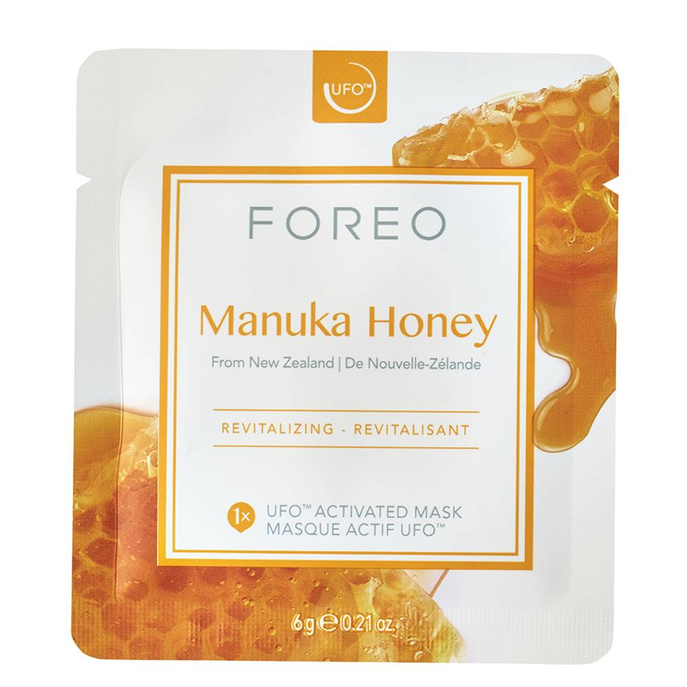 Foreo Manuka Honey UFO/UFO mini Revitalizing Face Mask for Ageing Skin 6pices