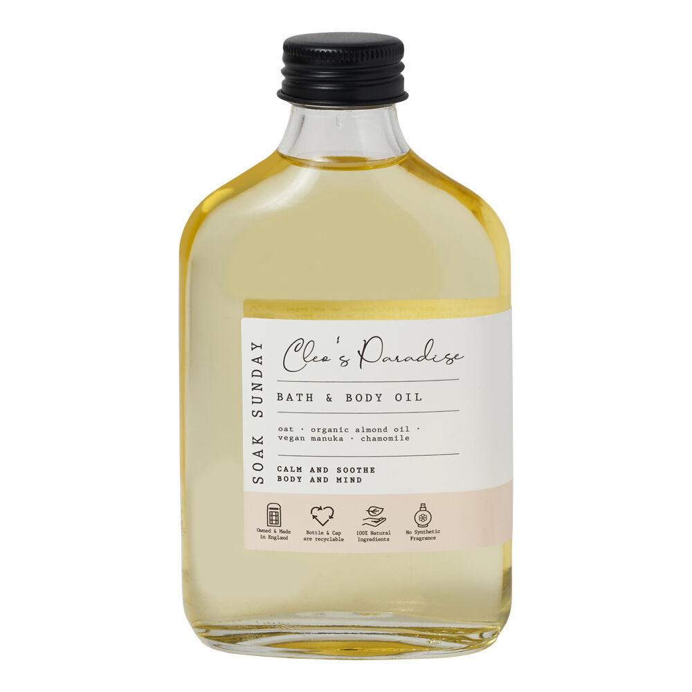 Soak Sunday Cleo's Paradise Bath & Body Oil 200ml