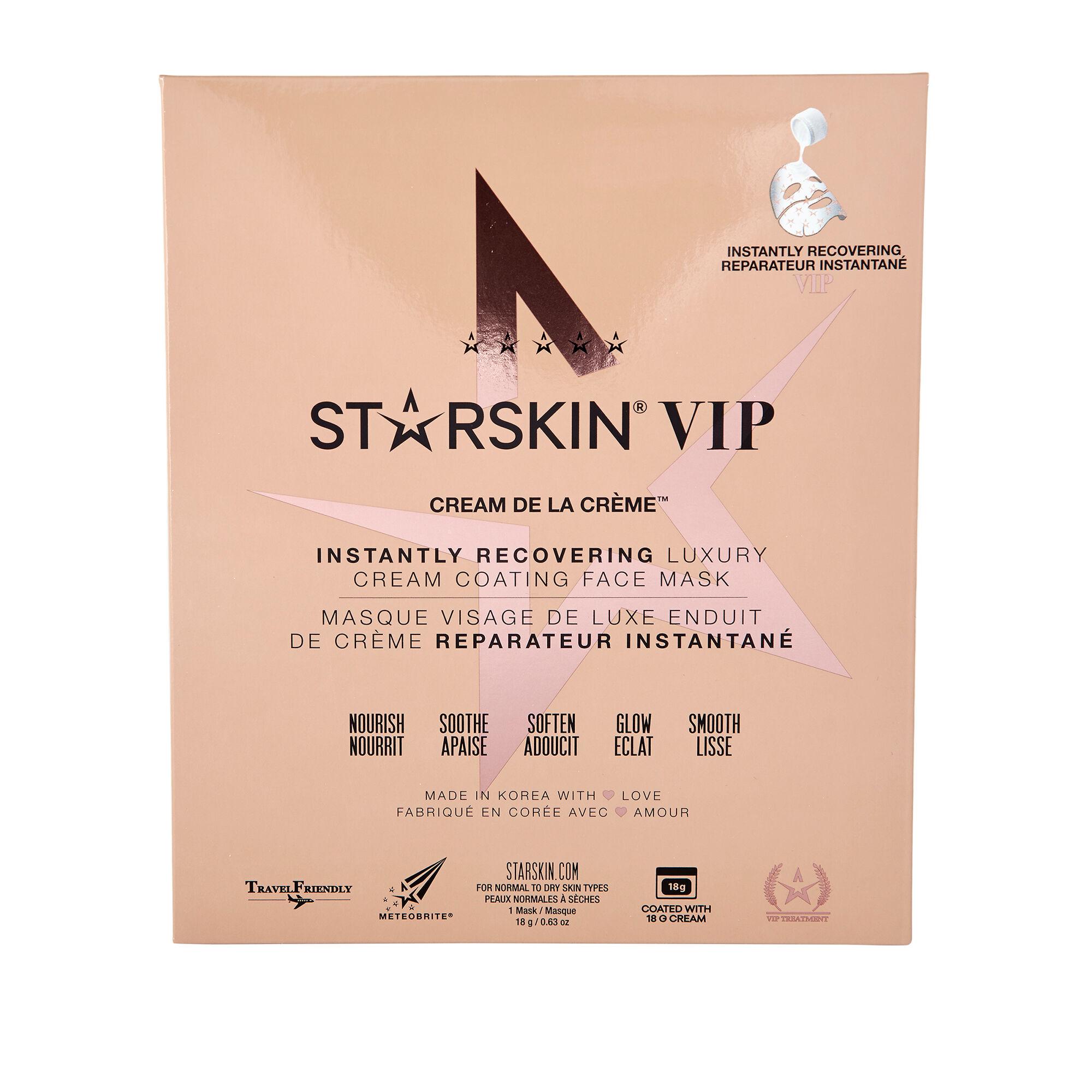 STARSKIN Cream de la Creme Instantly Recovering Luxury Cream Coating Face Mask
