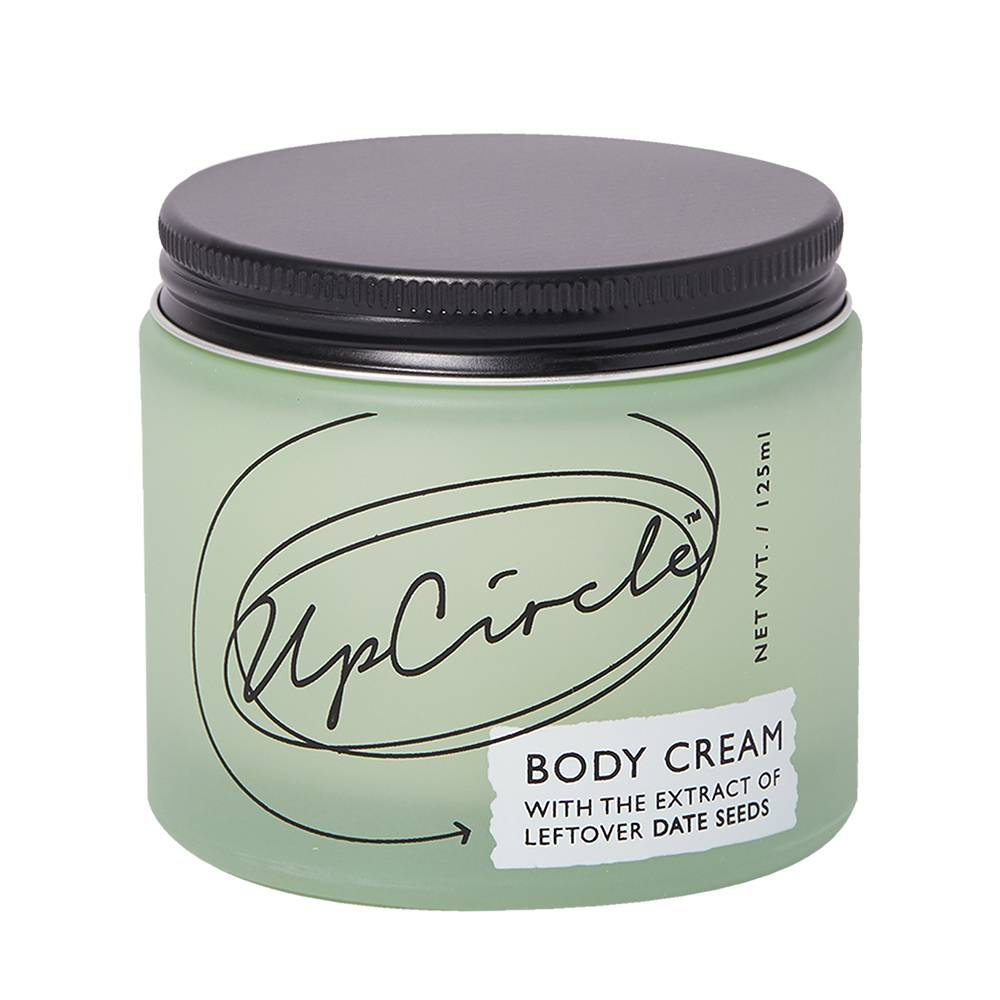 UpCircle Beauty Body Cream with Date Seeds 125ml