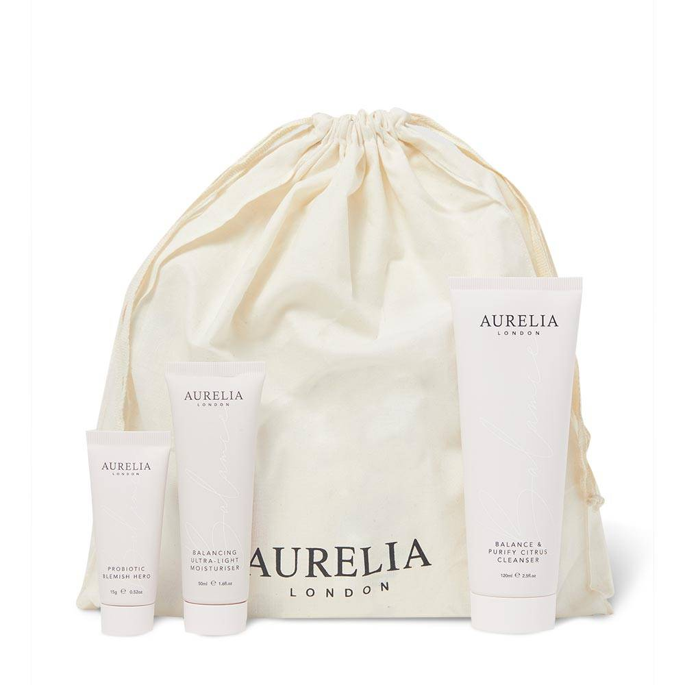 Aurelia Probiotic Skincare The Blemish Heroes Collection