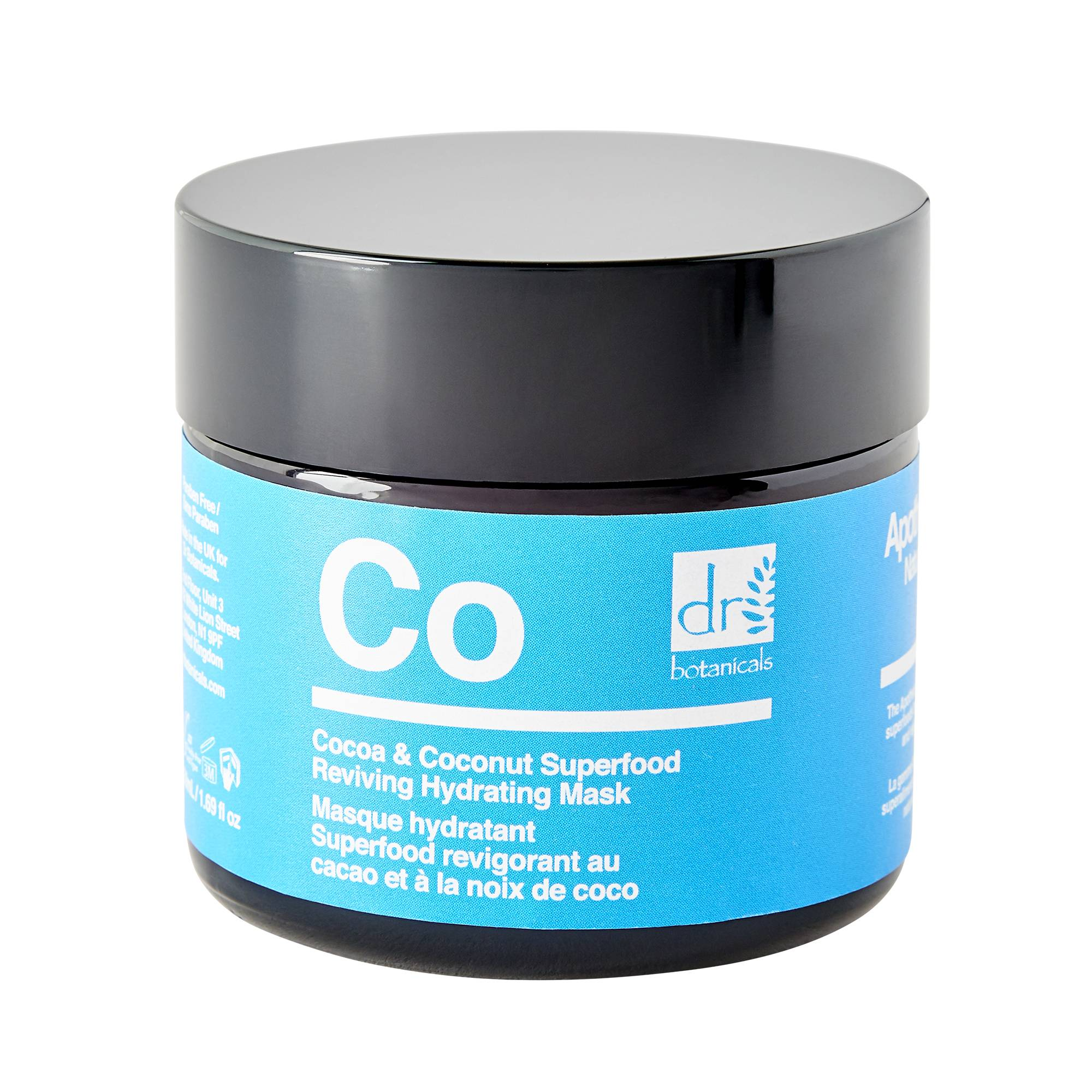 Dr. Botanicals Cocoa And Coconut Superfood Reviving Hydrating Mask 50ml