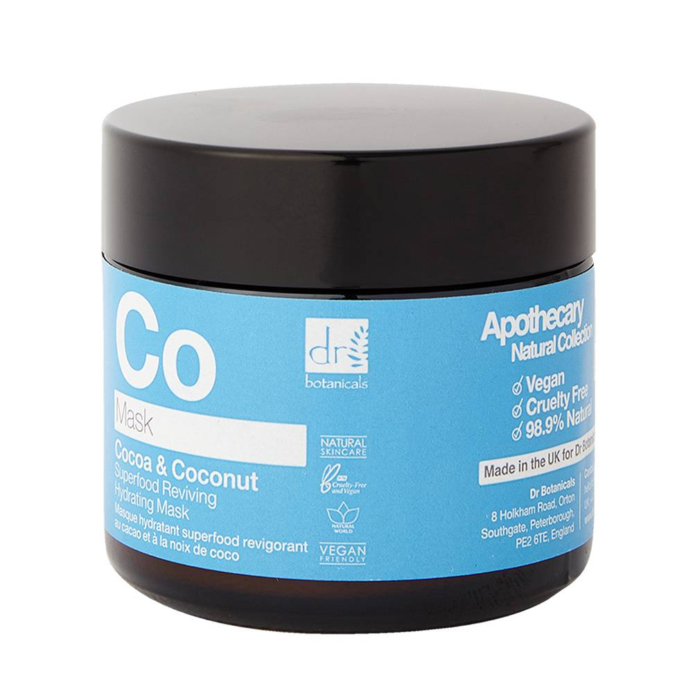 Dr. Botanicals Cocoa & Coconut Superfood Reviving Hydrating Mask 60ml