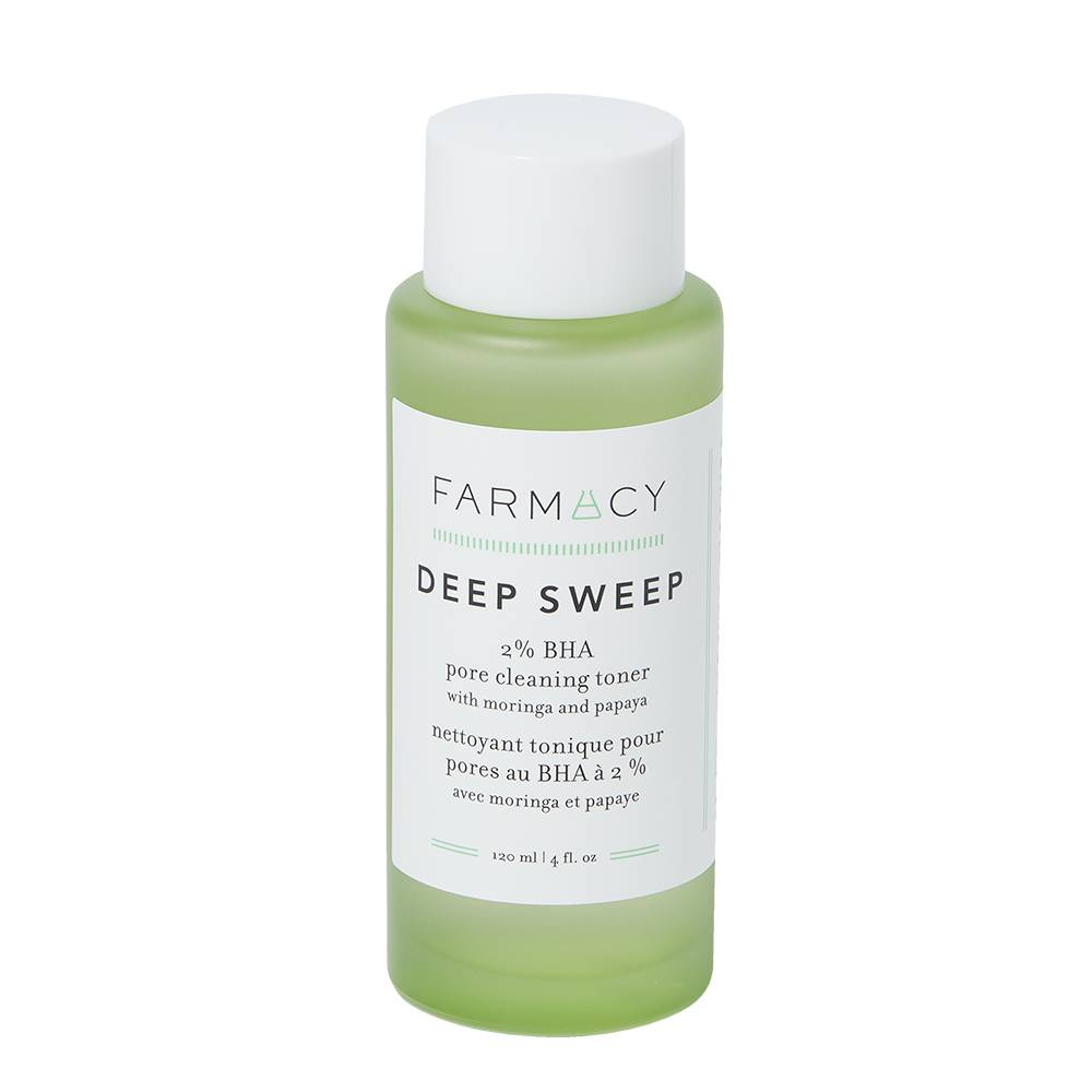 Farmacy Deep Sweep 2% BHA Pore Cleaning Toner with Moringa and Papaya 120ml