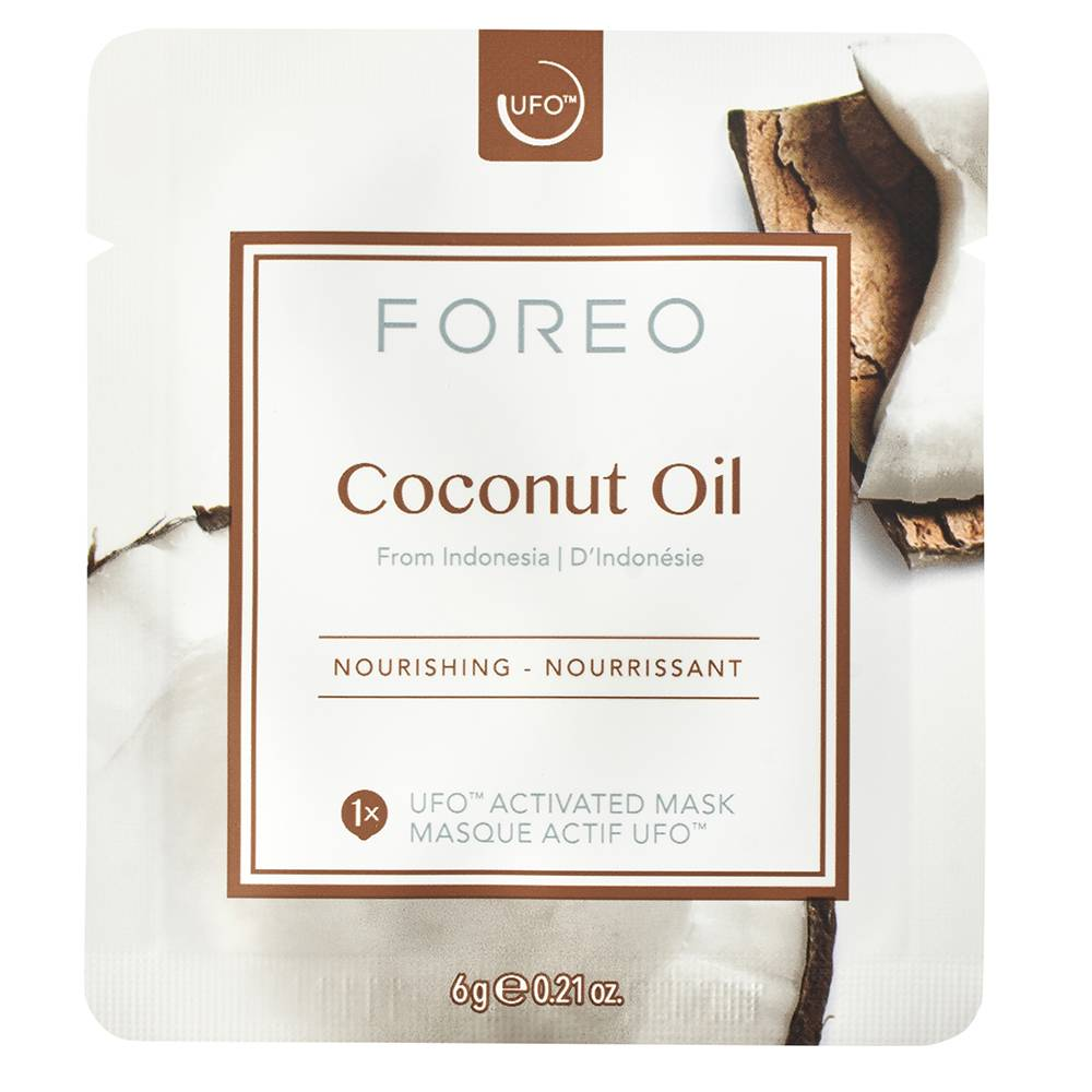 Foreo Coconut Oil UFO/UFO mini Nourishing Face Mask for Dry Skin 6pices