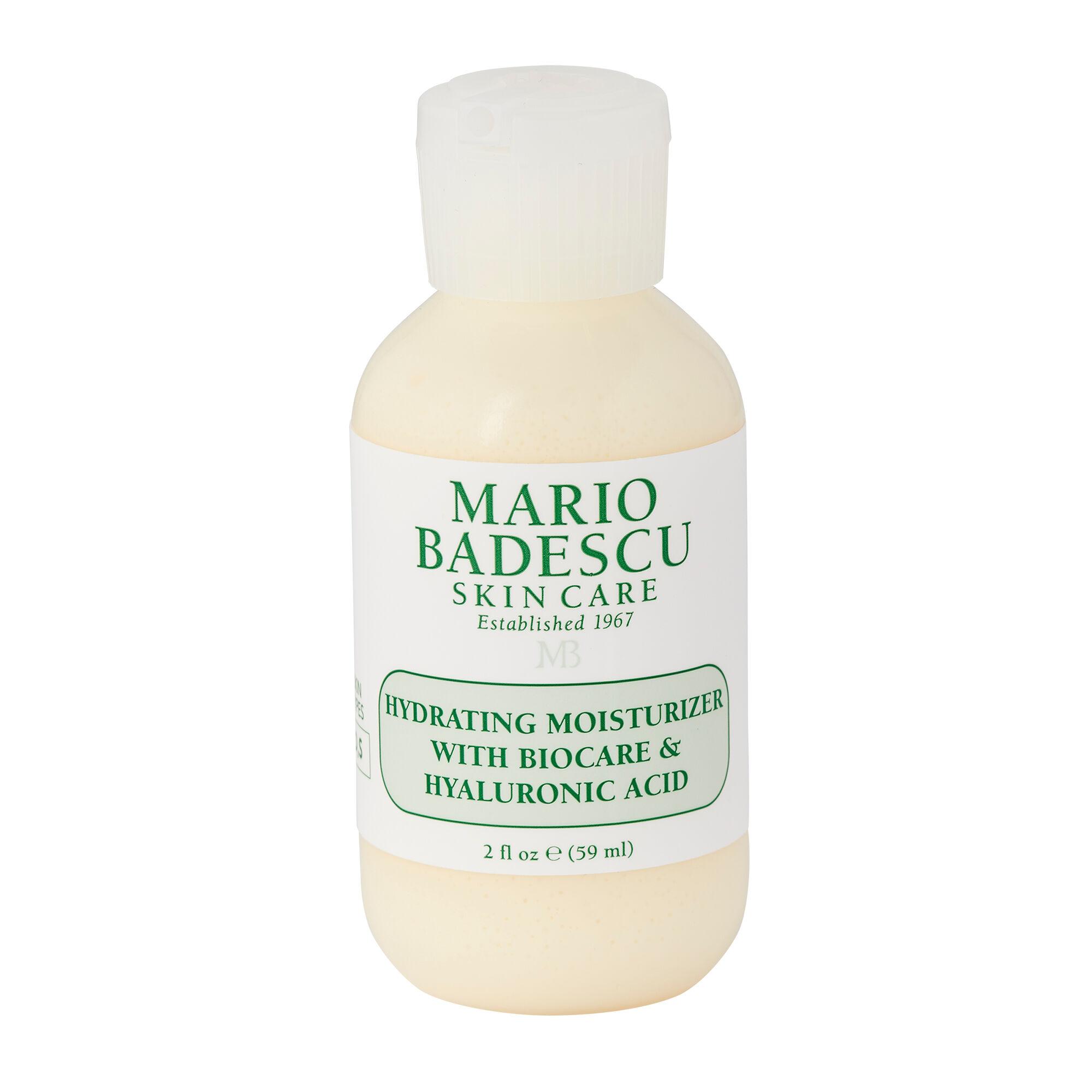 Mario Badescu Soin hydratant au Biocare et lacide hyaluronique 59ml