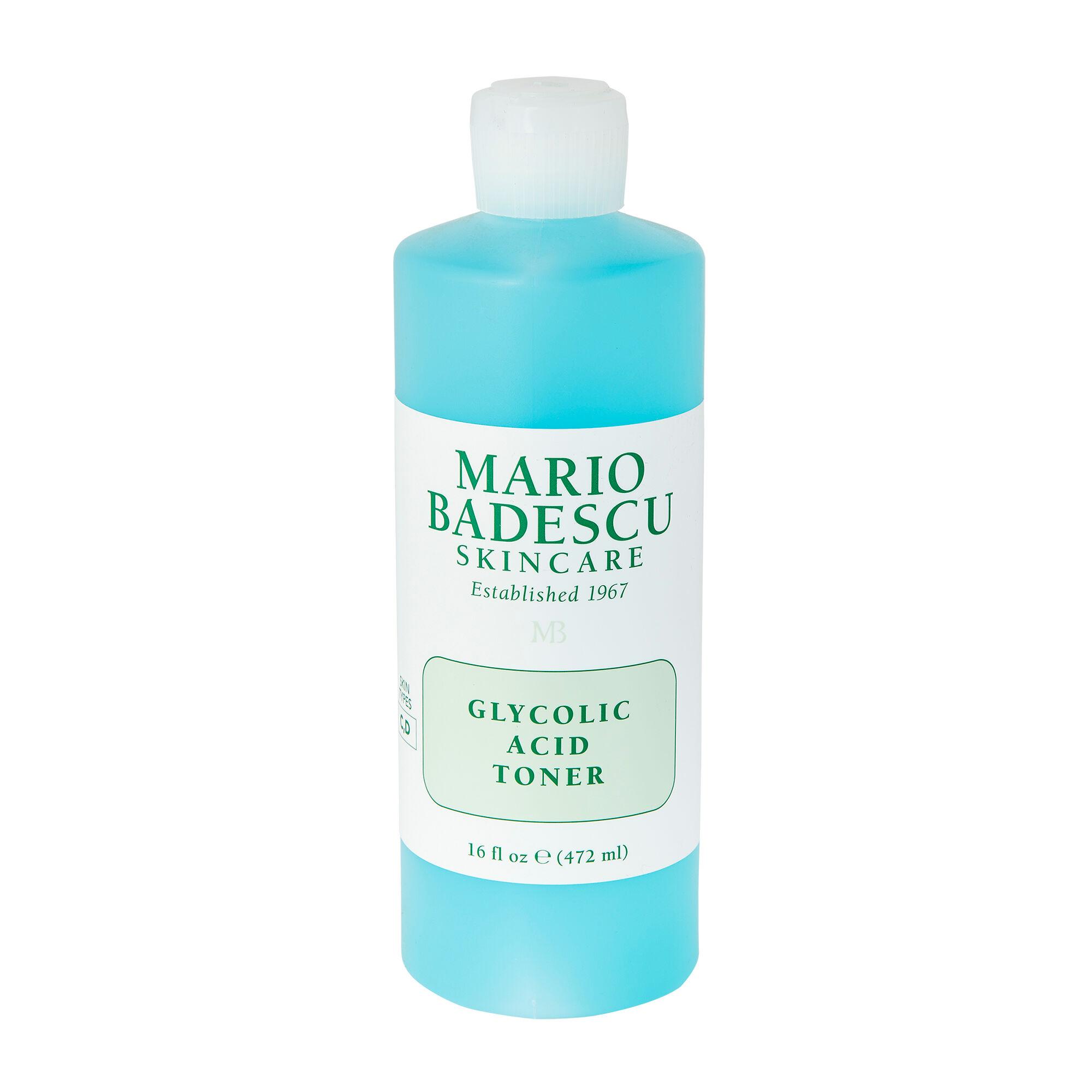 Mario Badescu Lotion tonique à l'acide glycolique Glycolic Acid Toner 472ml