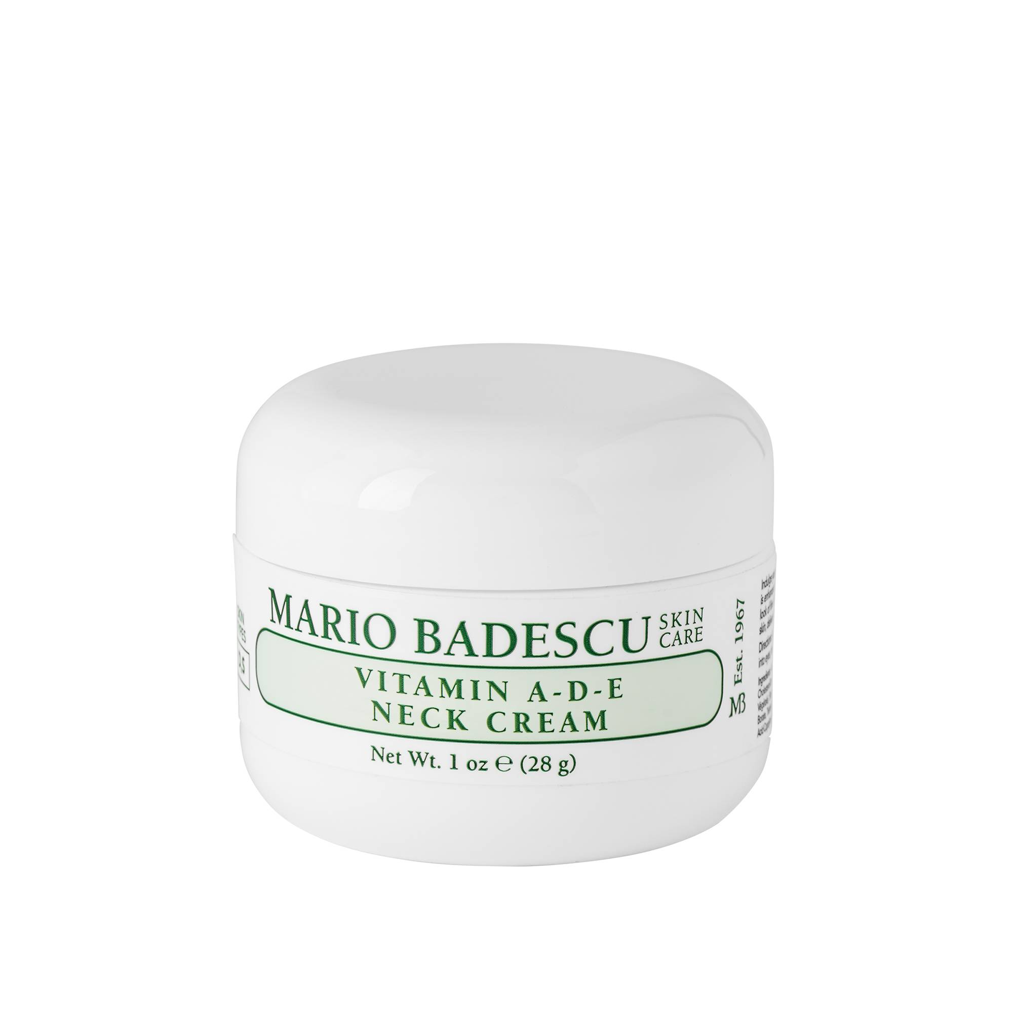 Mario Badescu Vitamin A D E Neck Cream 28g