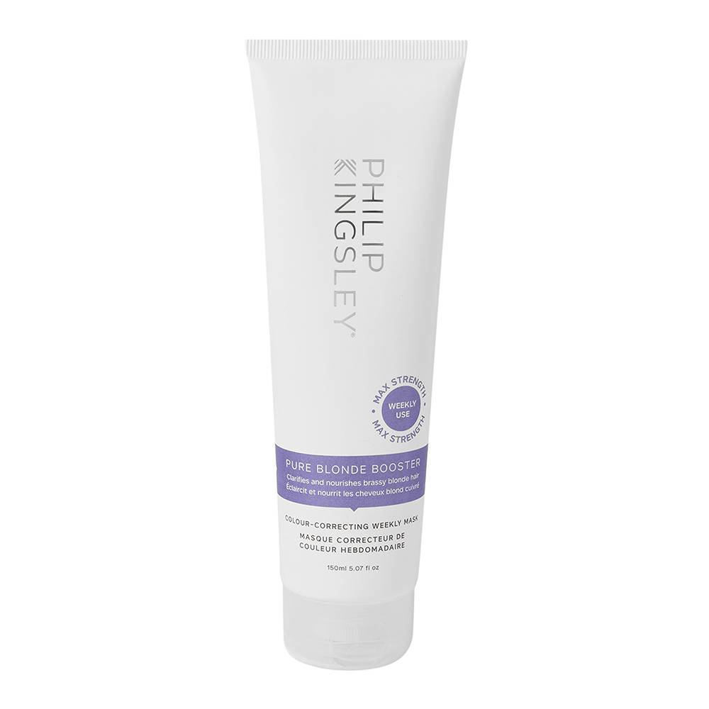 Philip Kingsley Pure Blonde Booster ColourCorrecting Weekly Mask Pure Blonde Booster ColourCorrecting Weekly Mask 150ml
