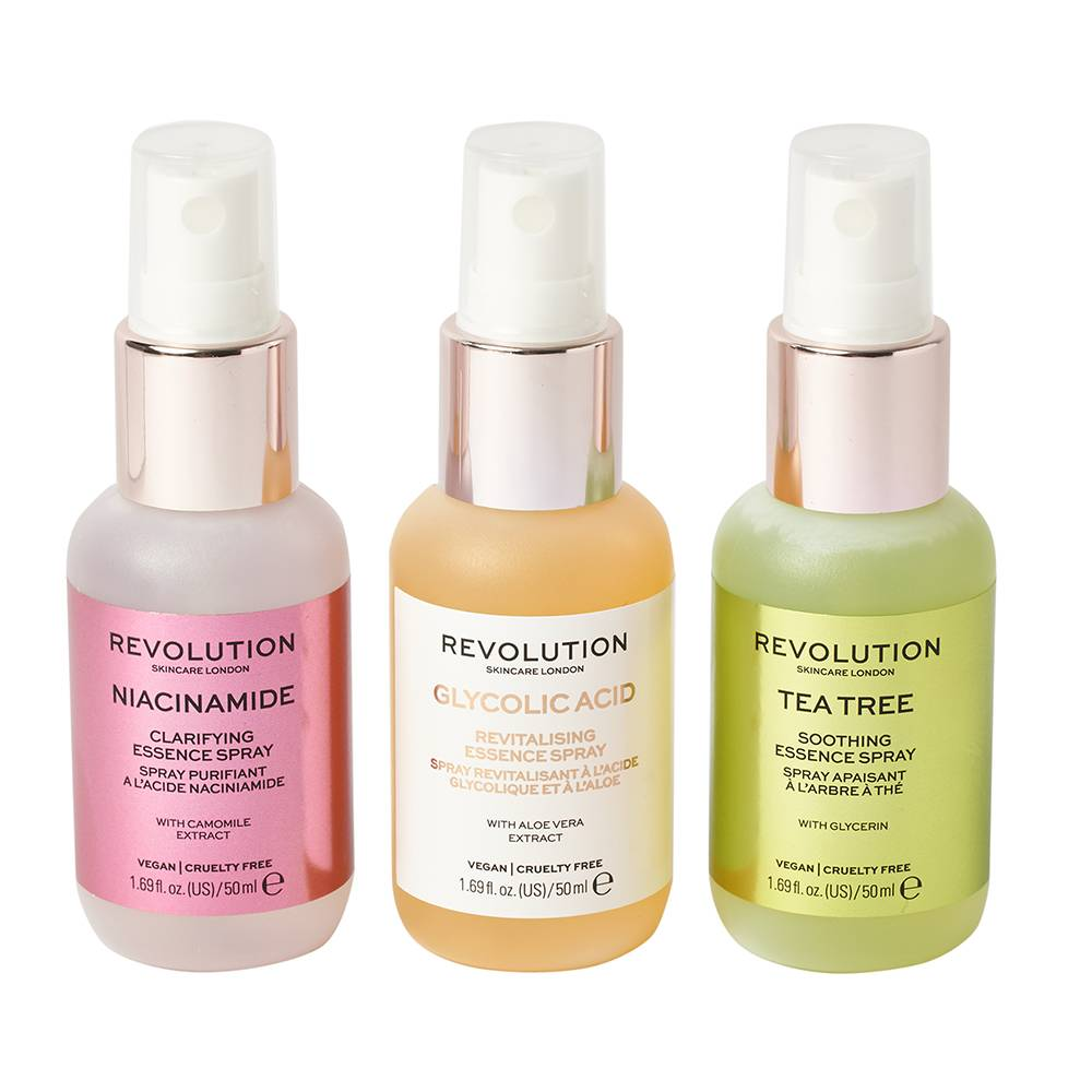 Revolution Skincare Mini Essence Spray Collection: So Soothing 3 x 50ml