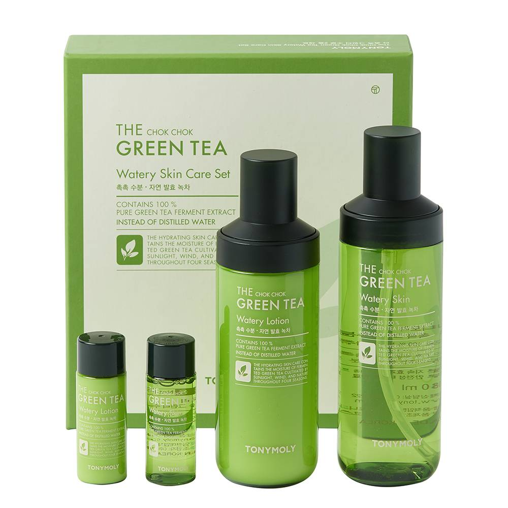 TONYMOLY The Chok Chok Green Tea Watery Skincare Kit