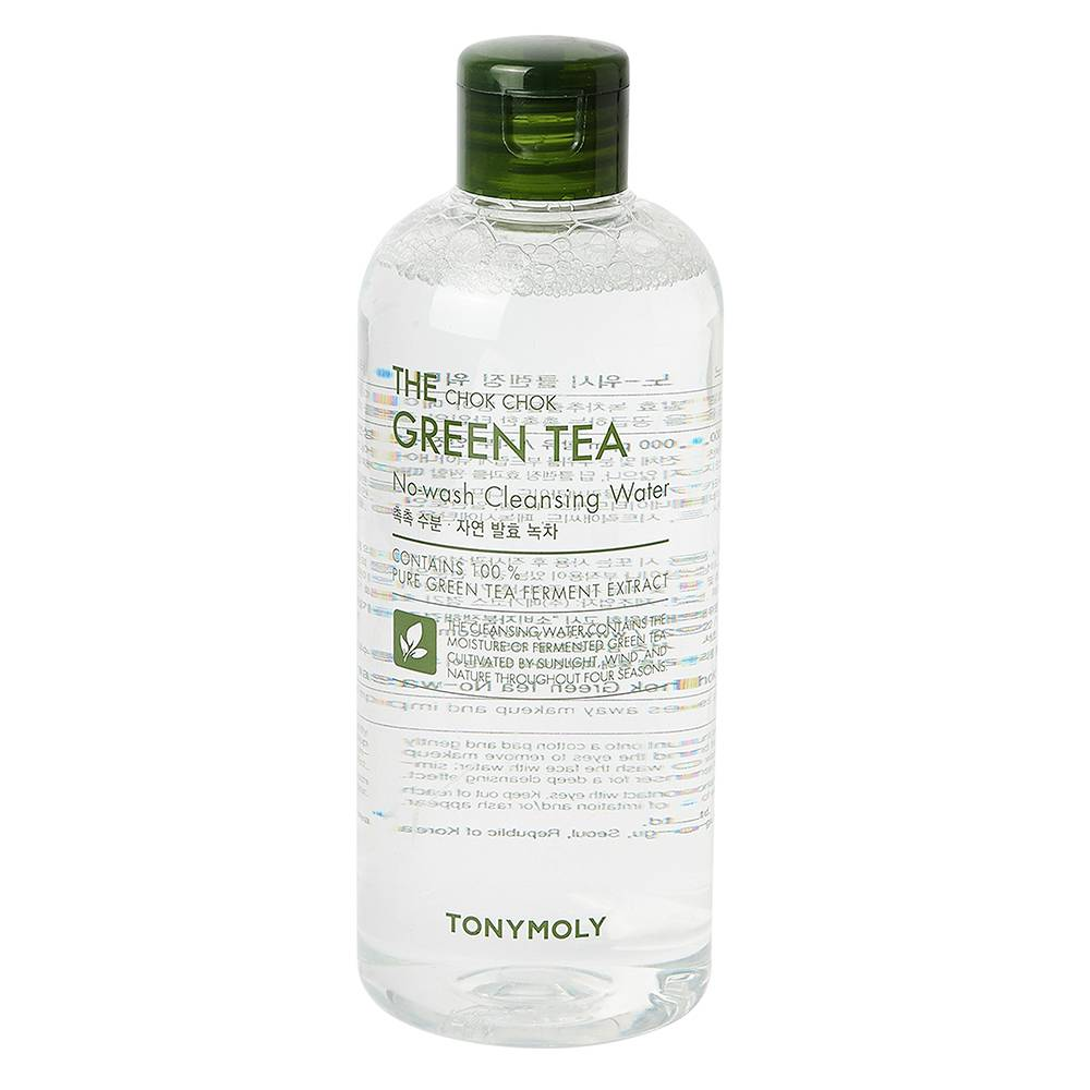TONYMOLY The Chok Chok Green Tea No Wash Cleansing Water