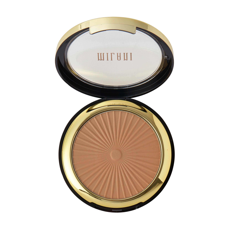 Milani Silky Matte Bronzing Powder Sun Tan Medium Warm Brown 9.5g
