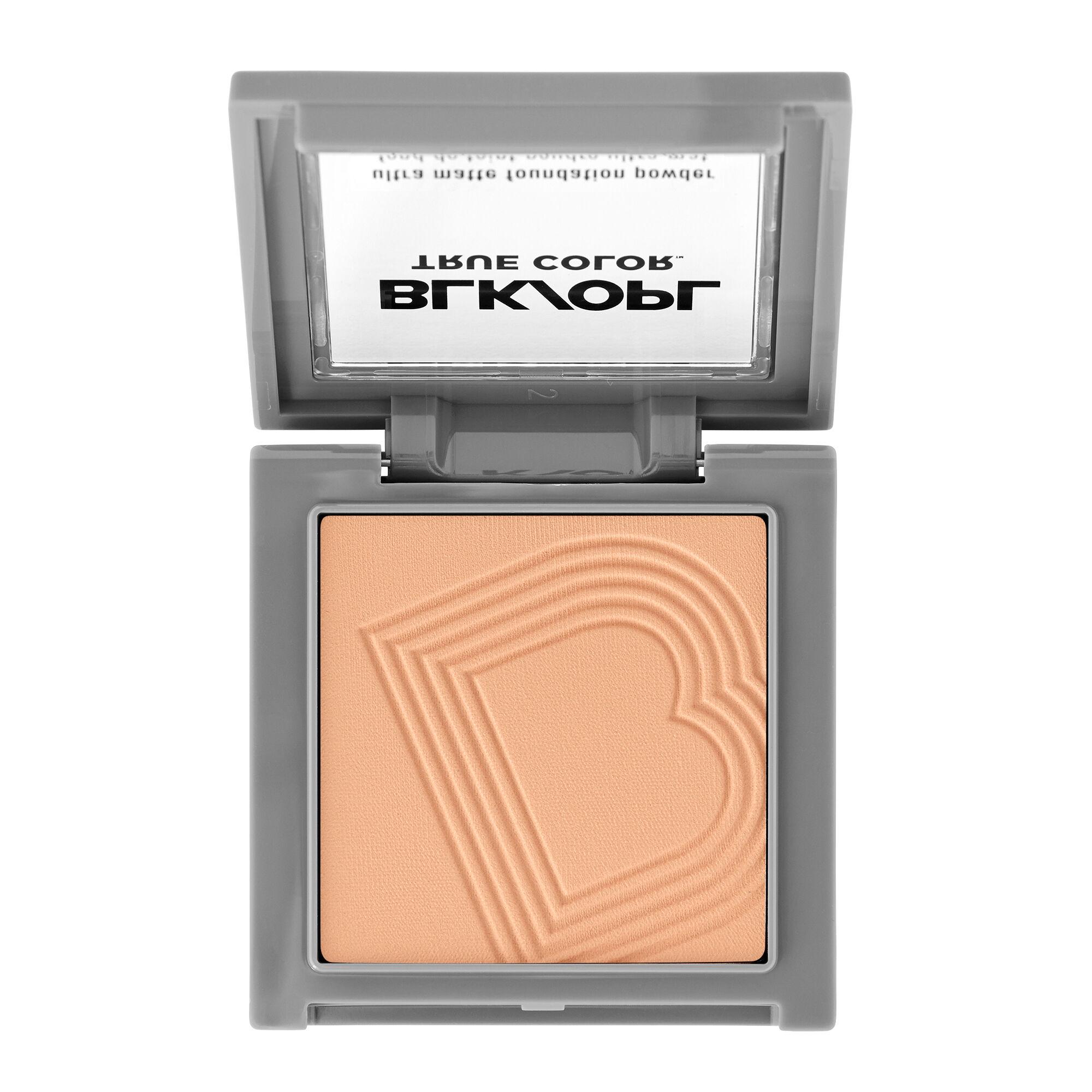 Black Opal BLK/OPL TRUE COLOR Ultra Matte Powder Foundation Light Medium
