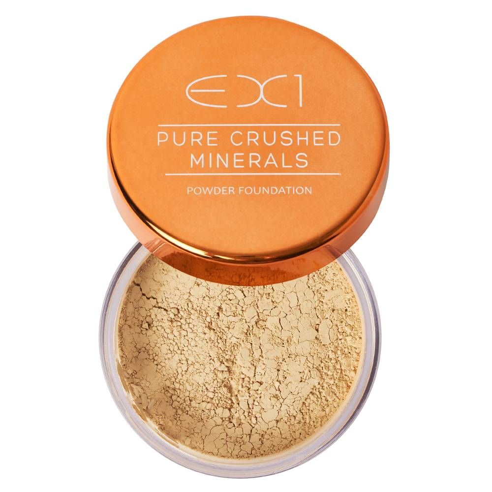 EX1 Cosmetics Pure Crushed Mineral Powder Foundation 4.0
