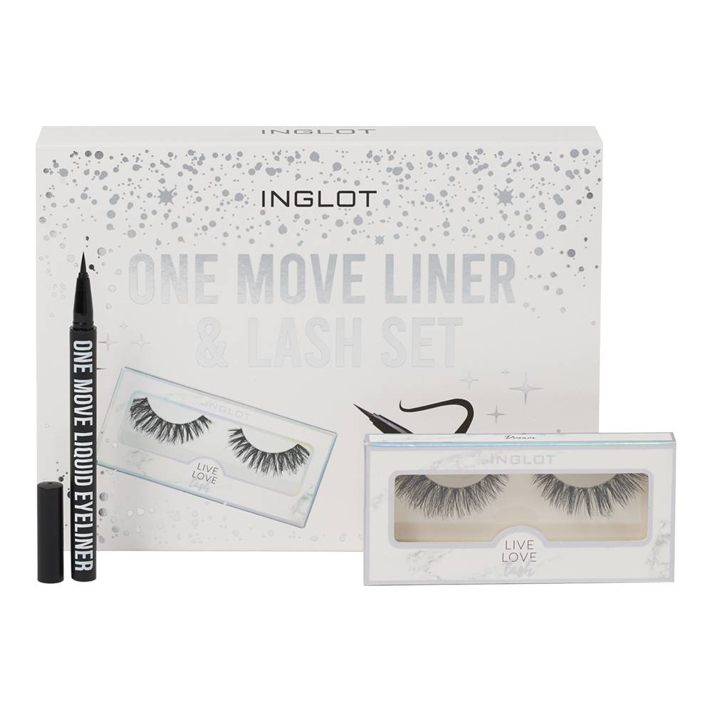 INGLOT Cosmetics One Move Liner & Lash Set
