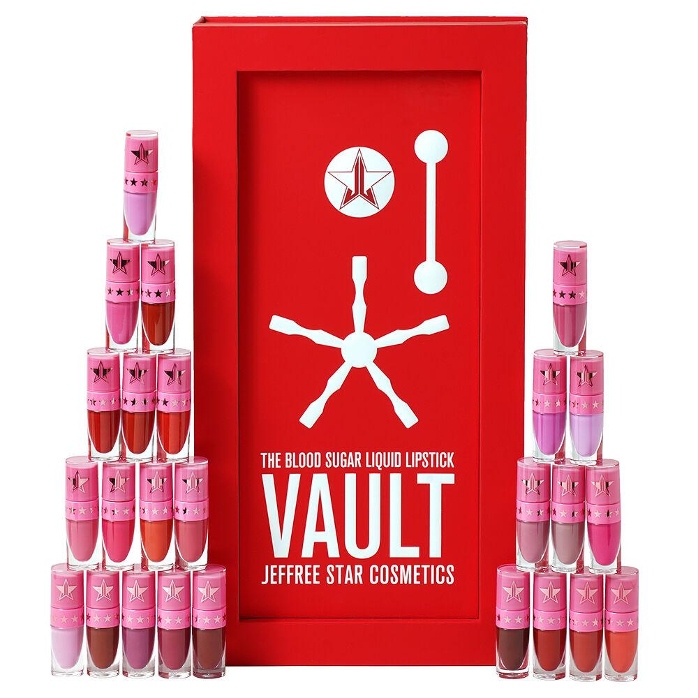 Jeffree Star Cosmetics Blood Sugar Liquid Lipstick Vault